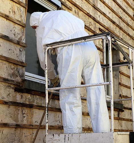 Missä asbestia